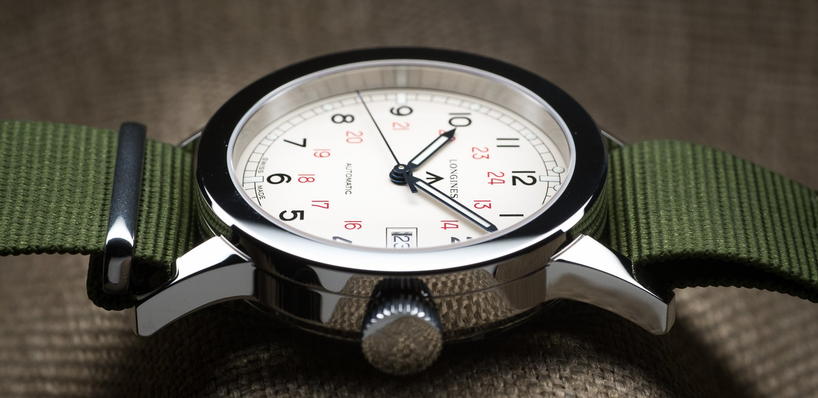 Longines Heritage Military COSD Tactical Watch