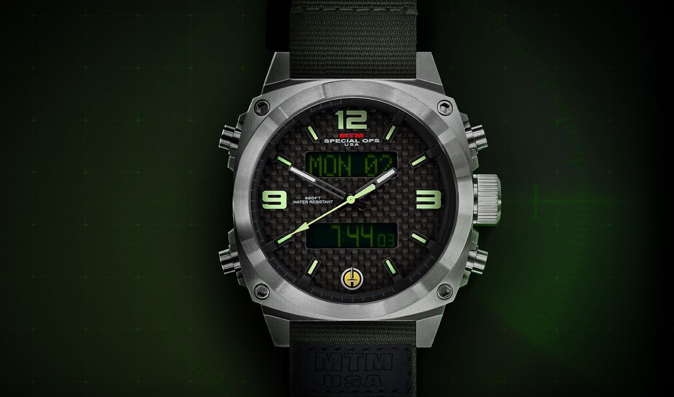 MTM Special Ops Silver Air Stryk – tactical watch