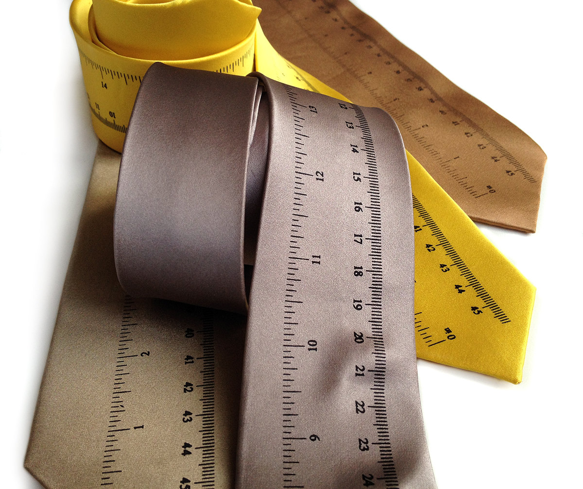 Measurements – proper tie length