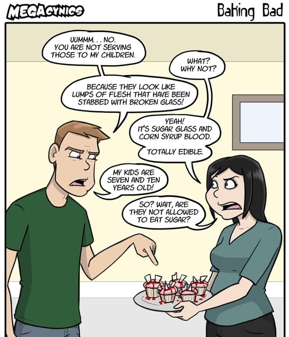 MegaCynics – web comic