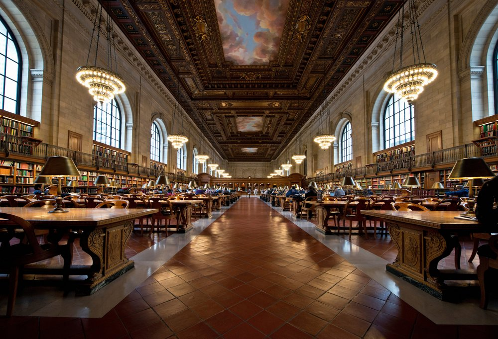 New York Public Beautiful Library