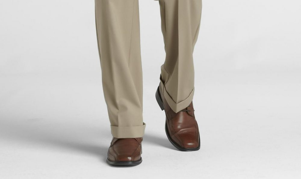 Pleats cuffed pants e1624917114577 How to Wear Cuffed Pants the Right Way: Style Guide for Men