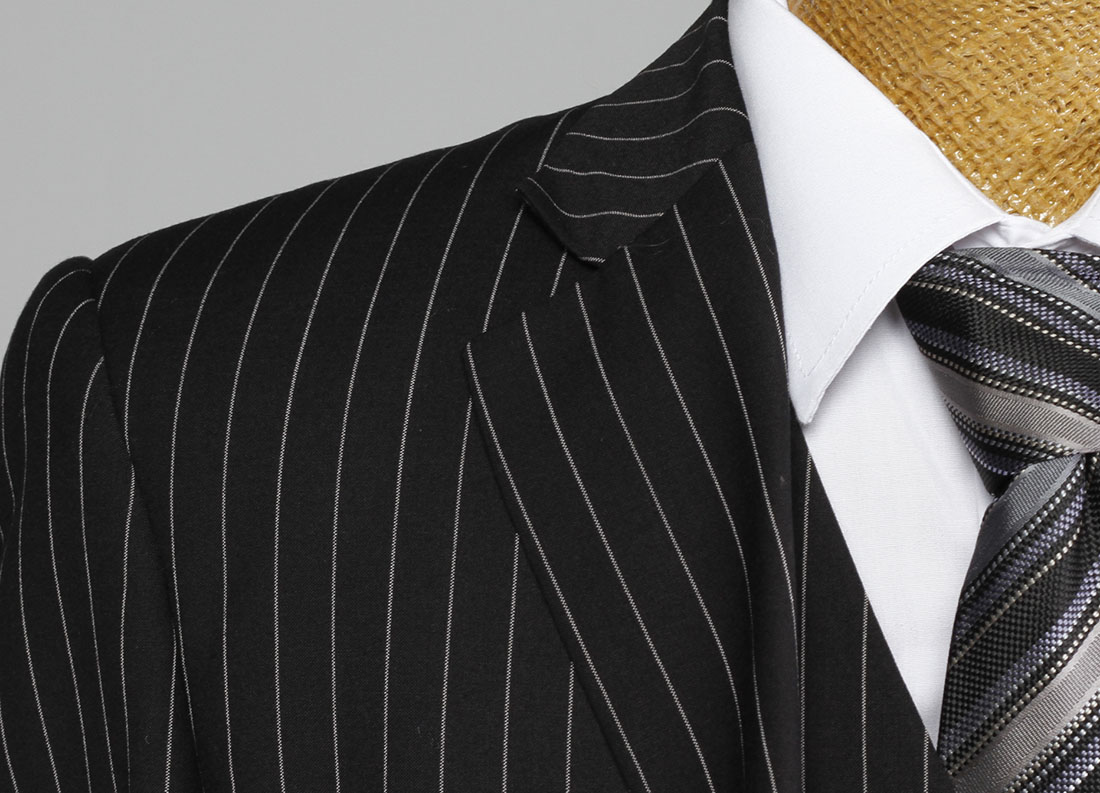 Point of a Pinstripe Suit