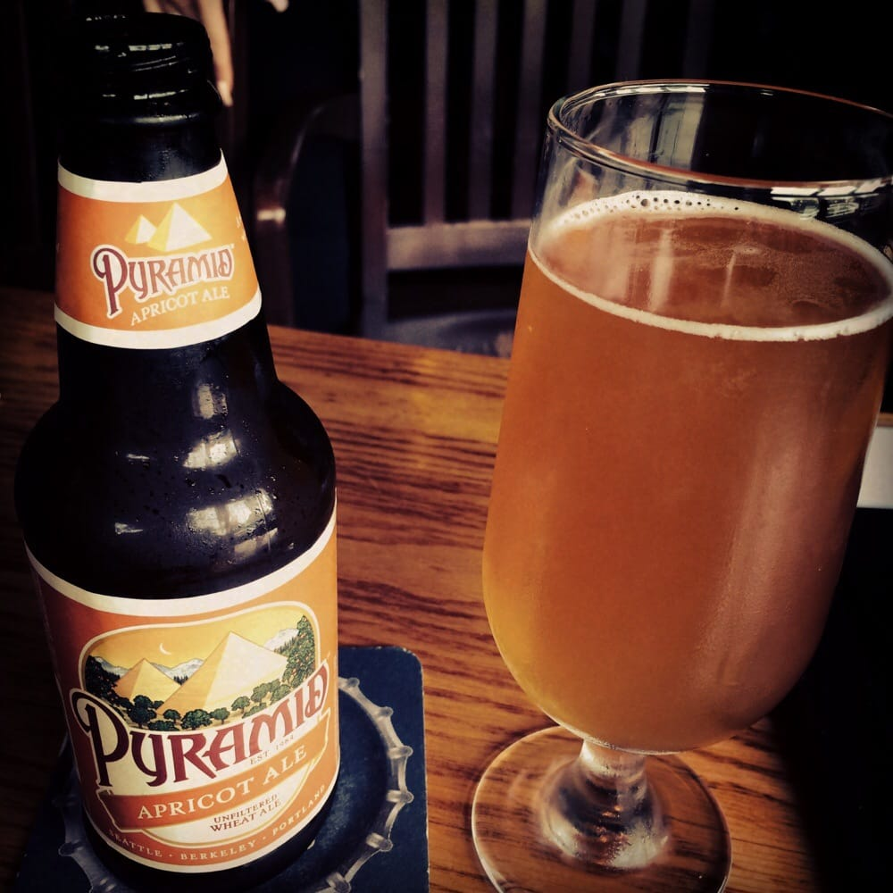 Pyramid Apricot Ale – wheat beer