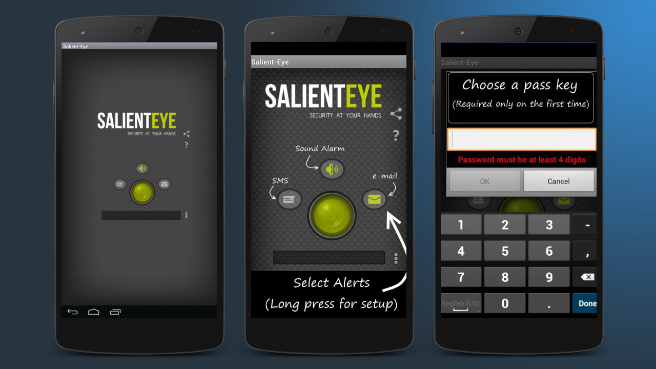 Salient Eye – security camera