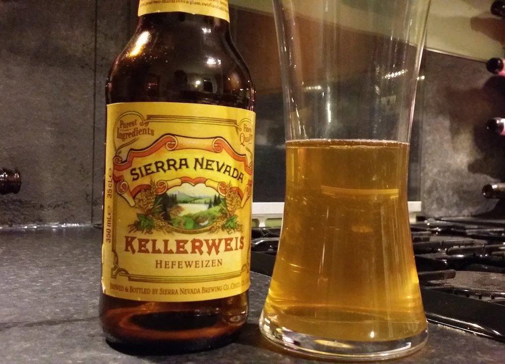 Sierra Nevada Kellerweis – wheat beer