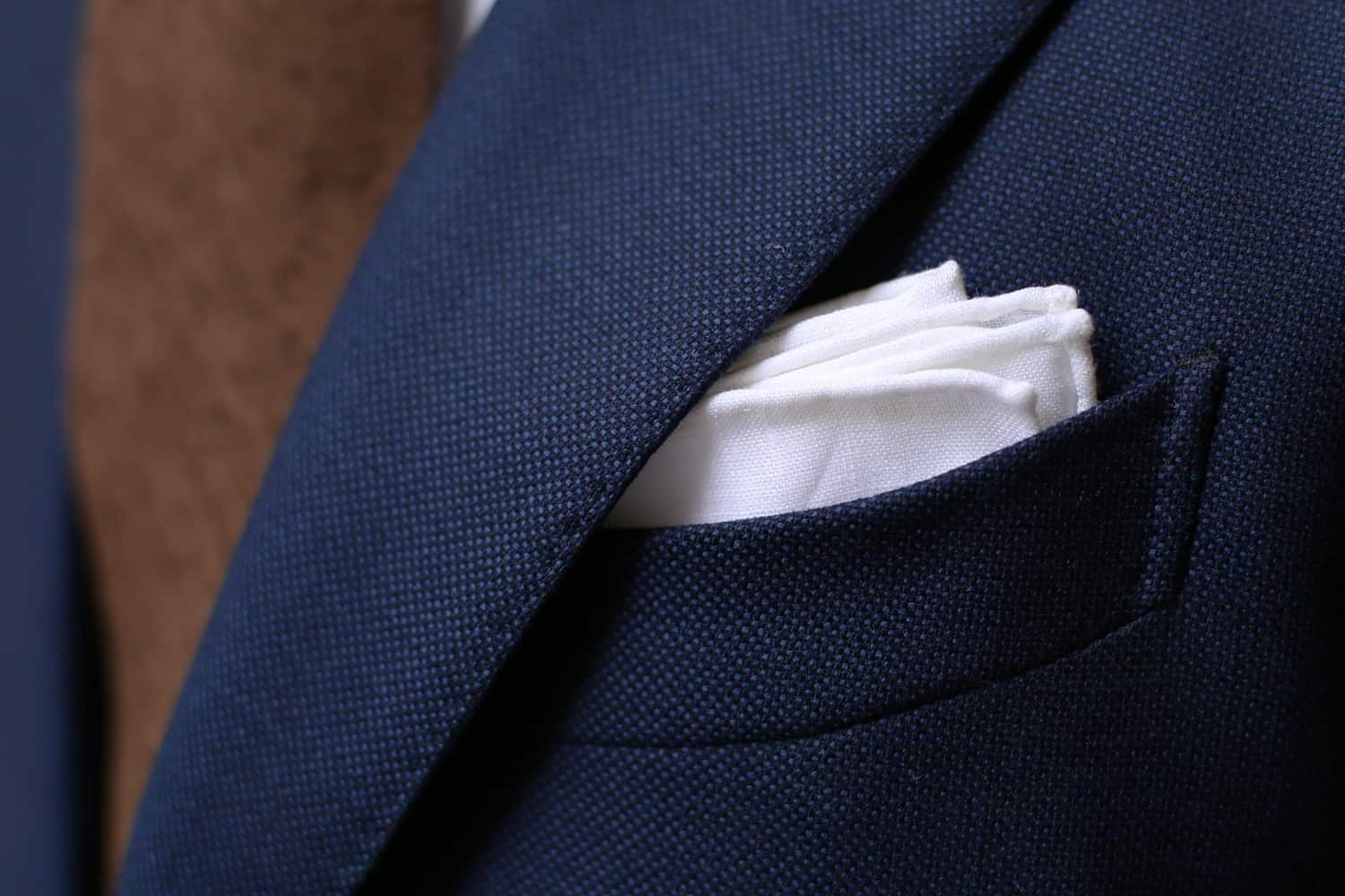 Start With The Staples – pocket square