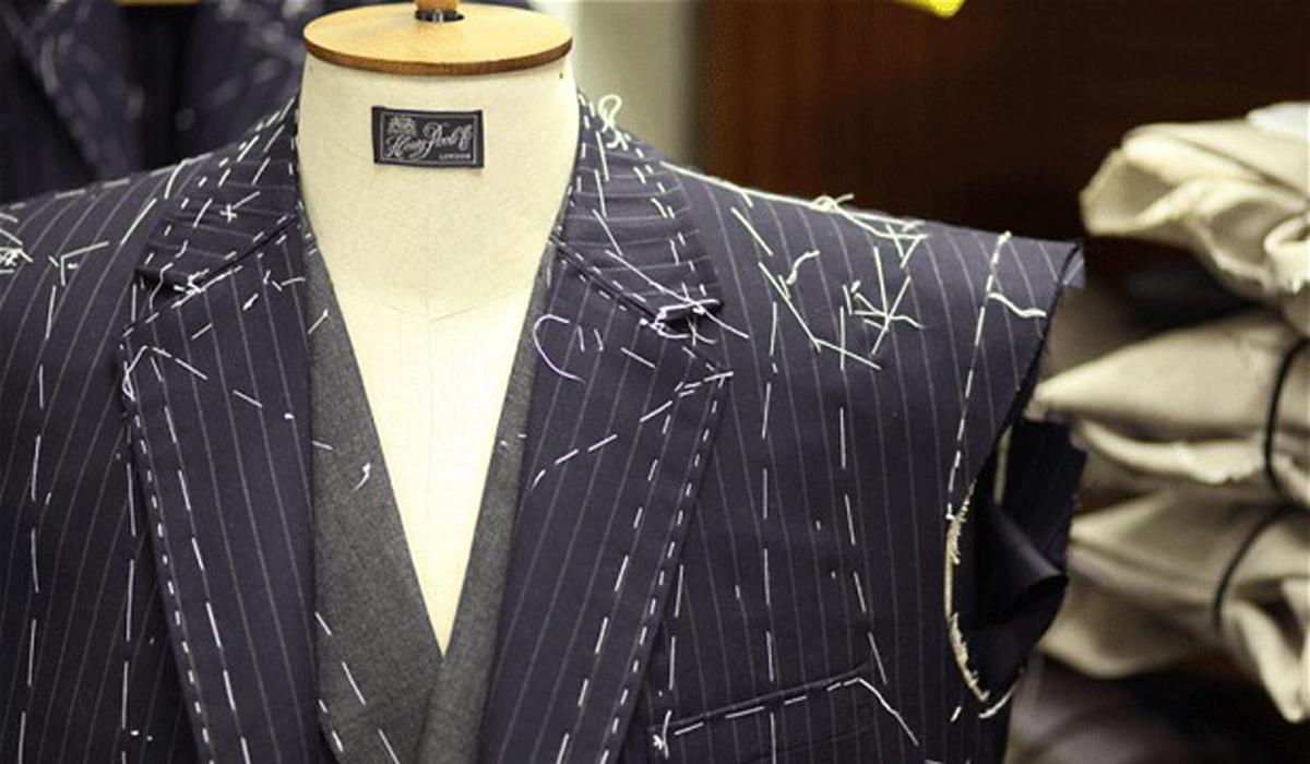 Tailored Pinstripe Suit