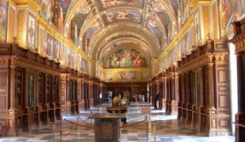 The Beautiful Library of El Escorial 345x200 21 of the Most Gorgeous Libraries, Begging To Be Browsed