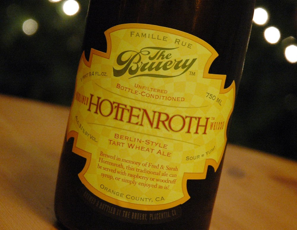 The Bruery Hottenroth – wheat beer