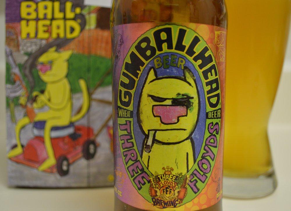 Three Floyds Gumballhead – wheat beer