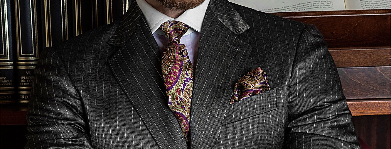 Traditional Pinstripe Suit