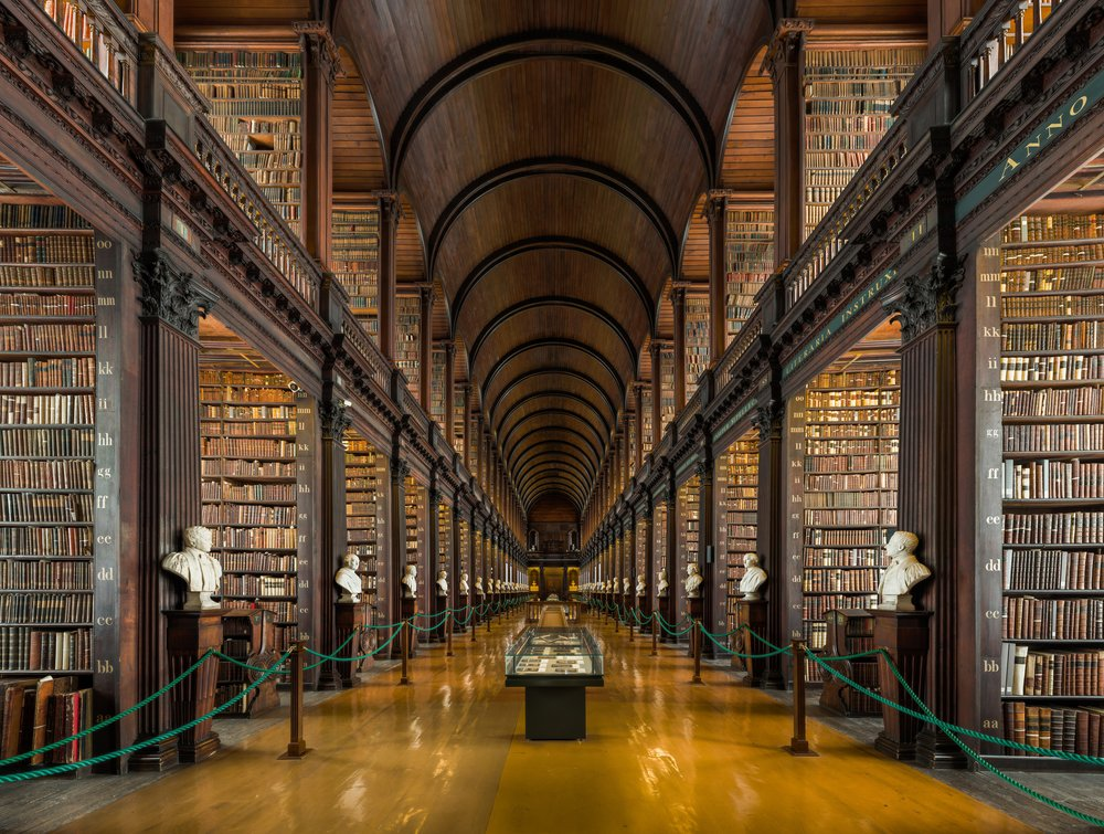Trinity College Dublin – beautiful library
