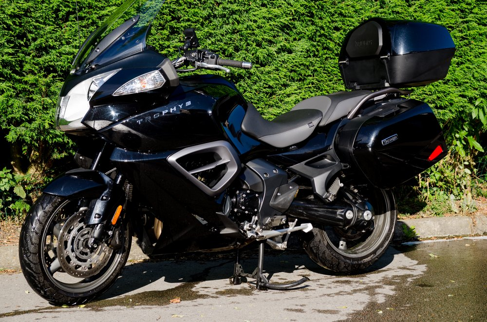 Triumph Trophy SE – touring motorcycle