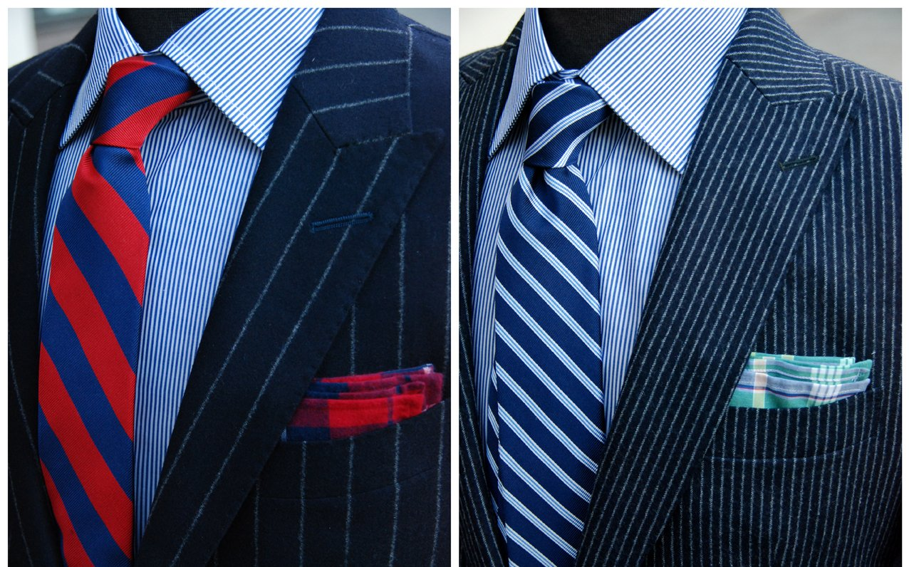 Type of Pinstripe Suits