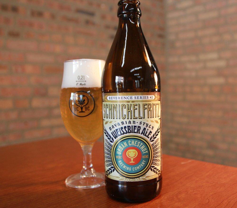 Urban Chestnut Schnickelfritz – wheat beer