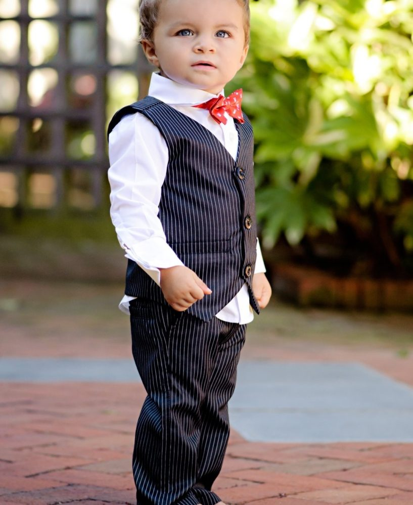 Child Pinstripe Suit