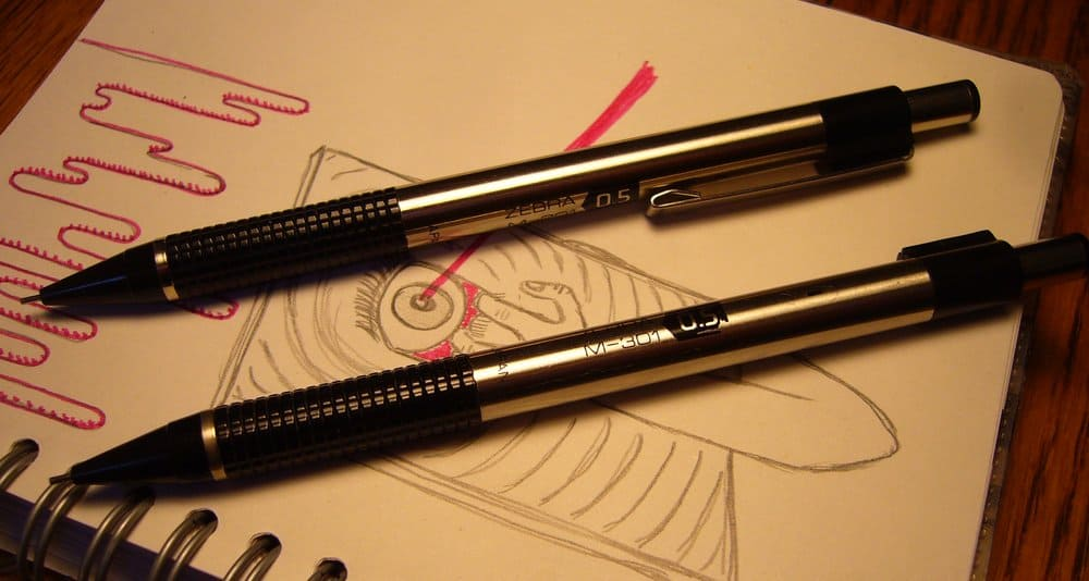 Zebra M-301 – mechanical pencil