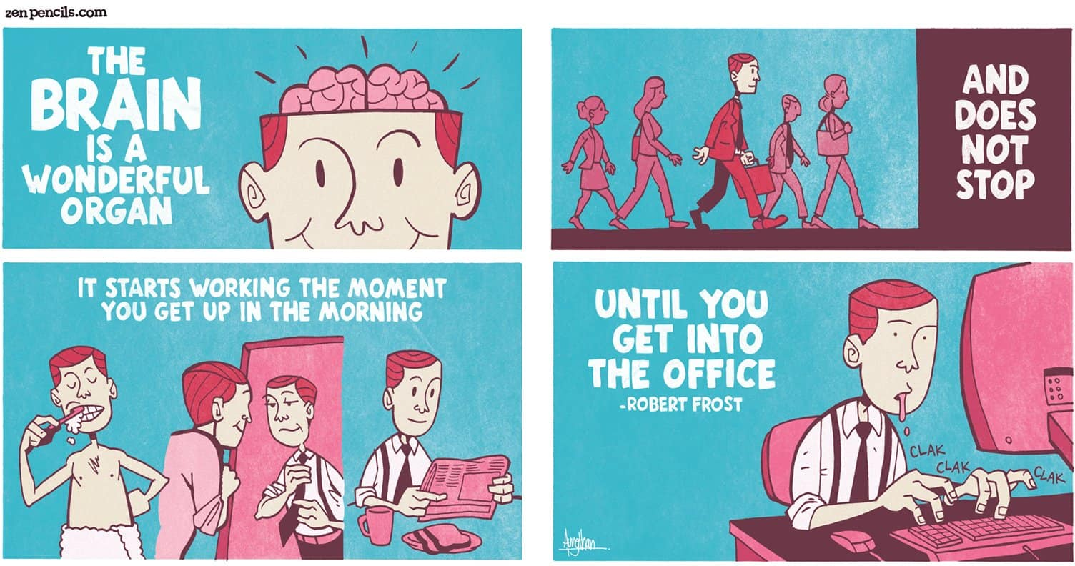 Zen Pencils – web comic