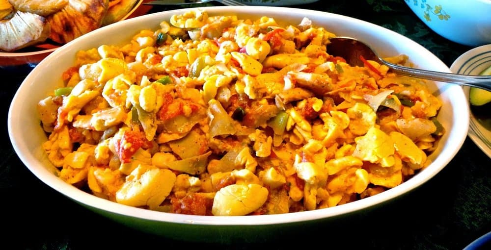 Ackee and Saltfish – breakfast food