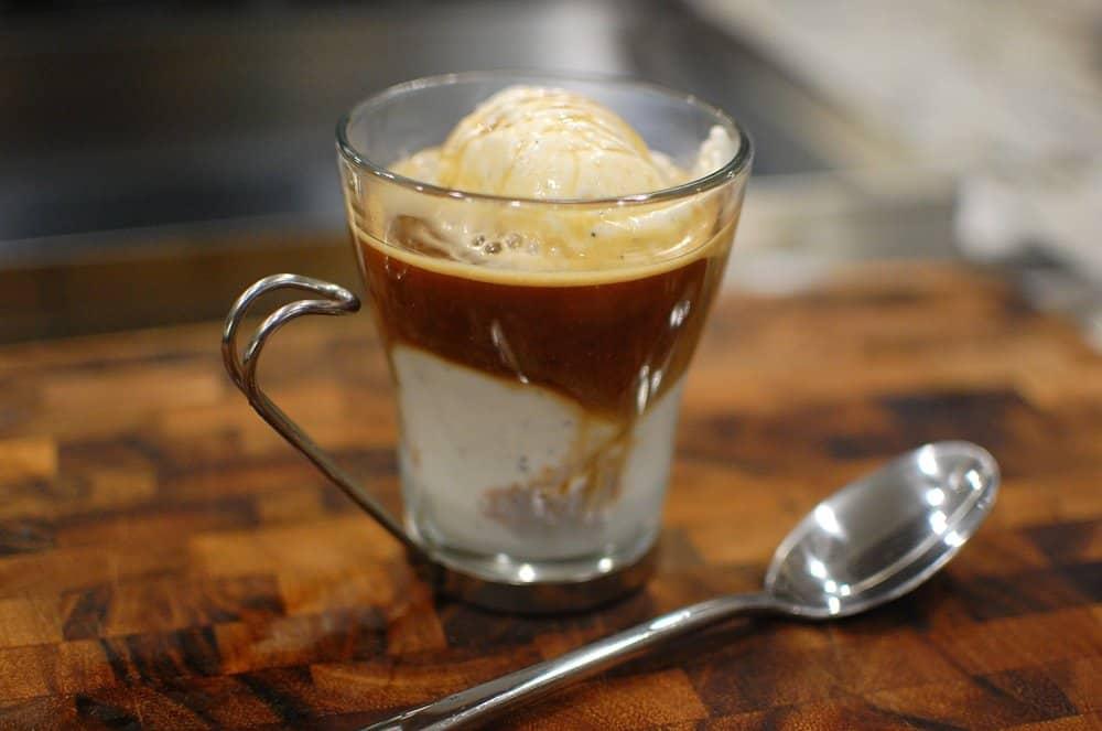 Affogato – espresso drink