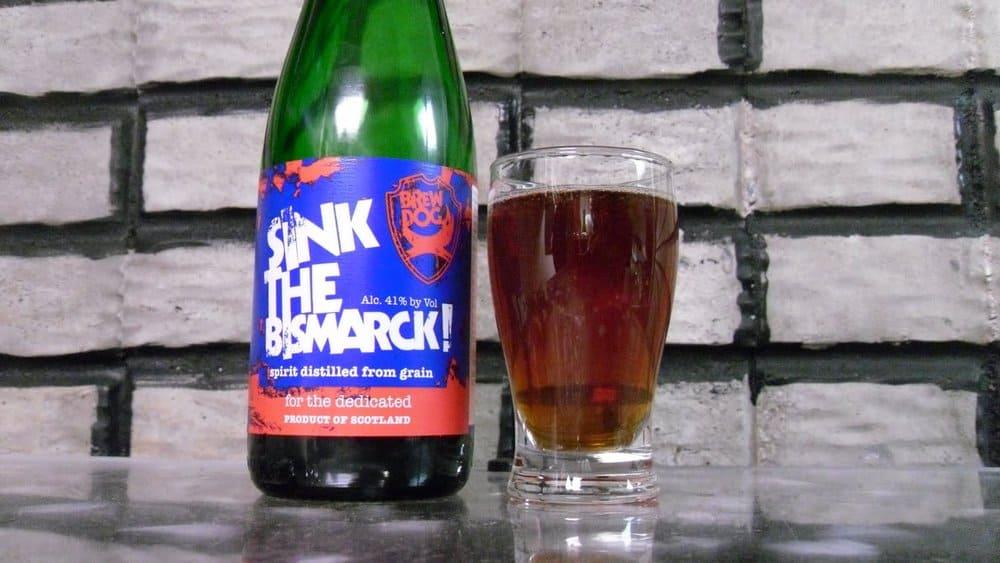 BrewDog's Sink the Bismarck – strongest beer