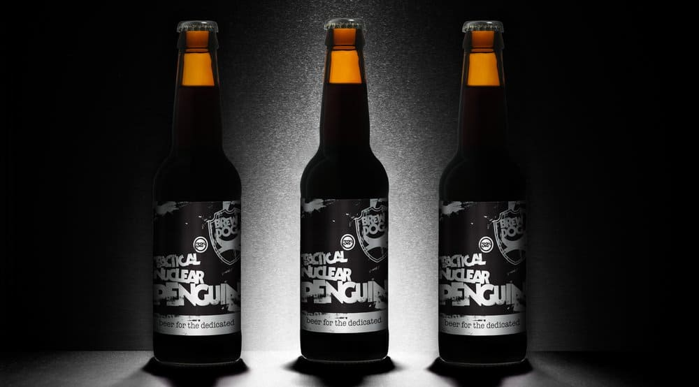BrewDog's Tactical Nuclear Penguin – strongest beer