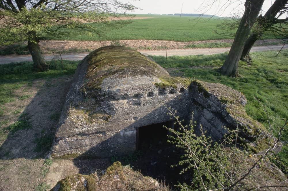 German Command Bunker