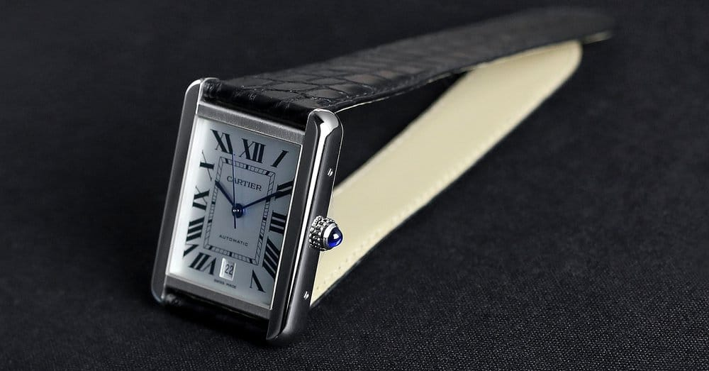 Cartier Tank Solo – edc watch