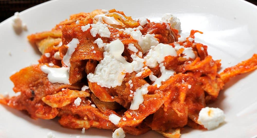 Chilaquiles – breakfast food