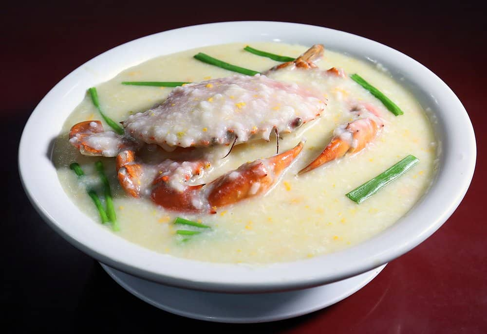 Crab Congee – breakfast food