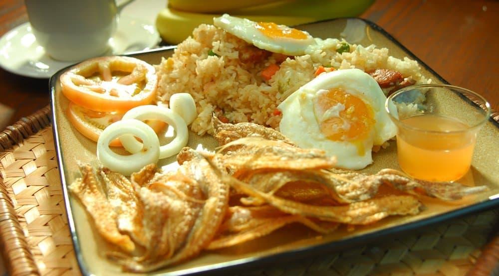 Danggit Silog – breakfast food