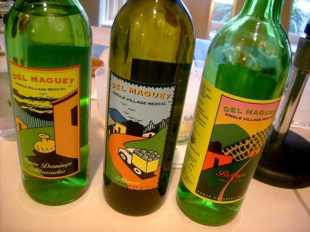 Del Maguey Pechuga Mezcal – strange alcohol