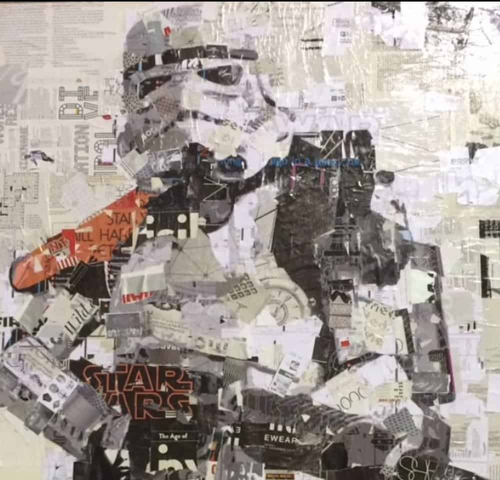 Derek Gores Empire State of Mind – junk art