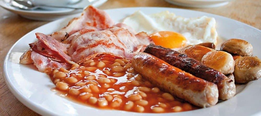 English Breakfast Food