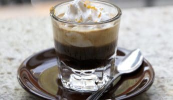 Espresso con panna espresso drink 345x200 All You Need to Know About Modern Espresso Drinks