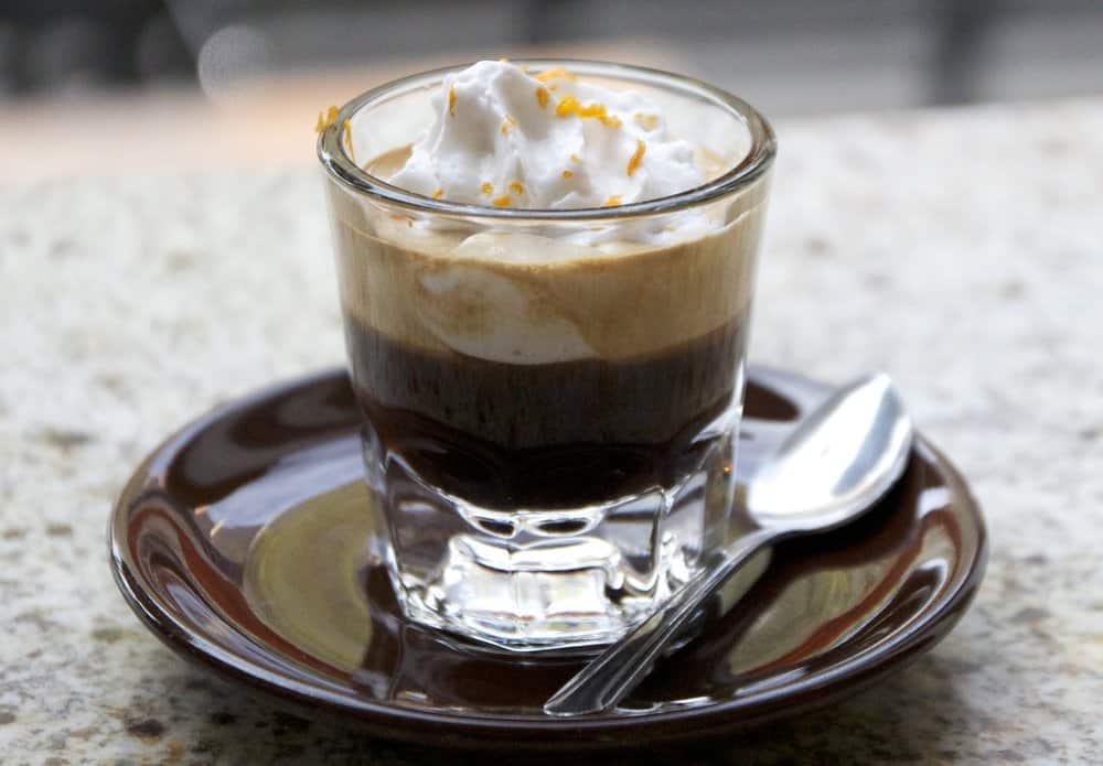 Espresso con panna – espresso drink
