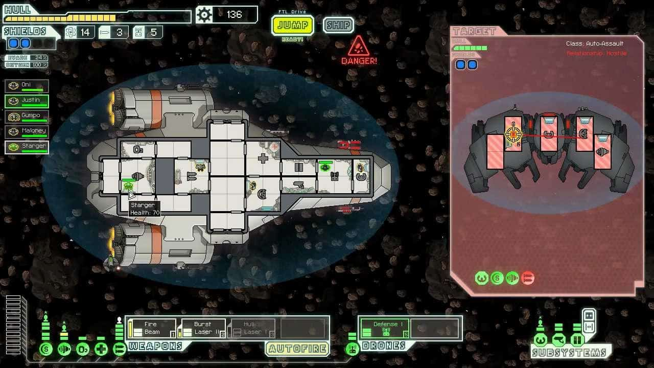 FTL: Faster Than Light – popular video game