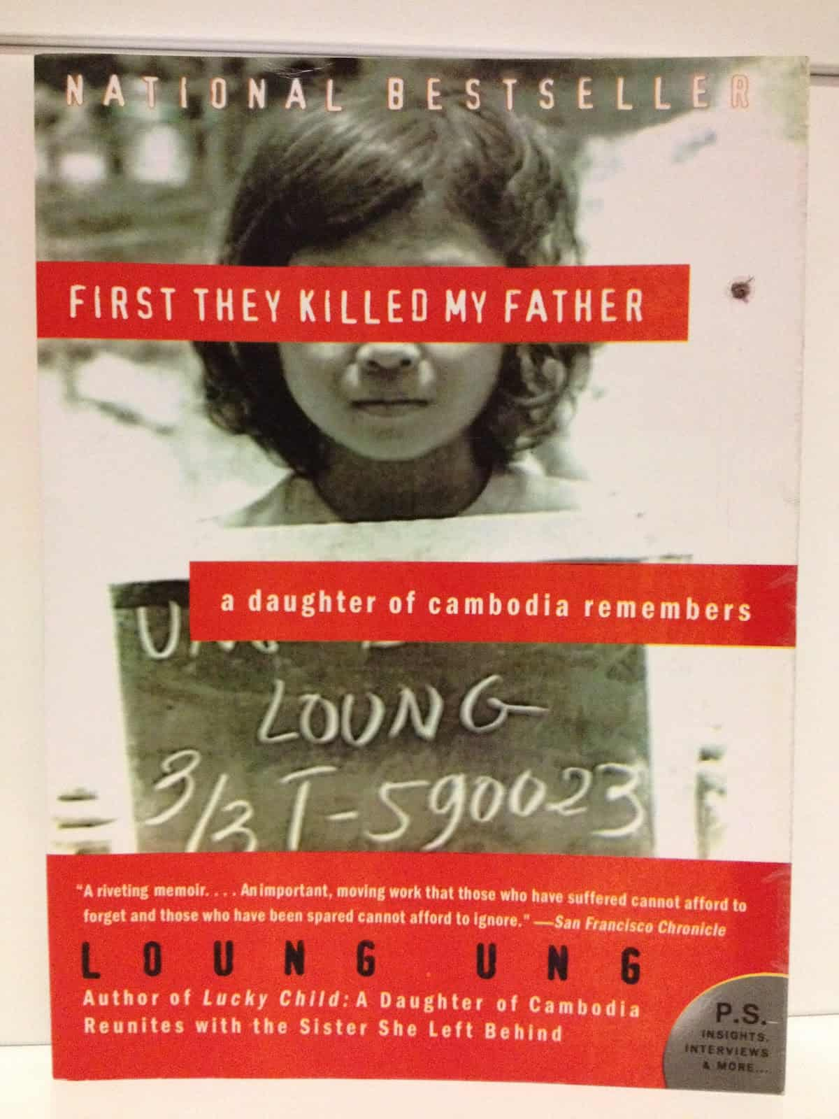 First They Killed My Father: A Daughter of Cambodia Remembers – biography