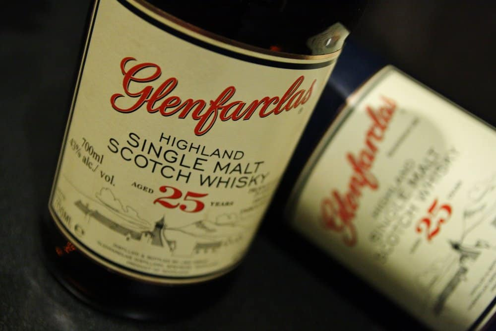 Glenfarclas 25 – scotch under 250