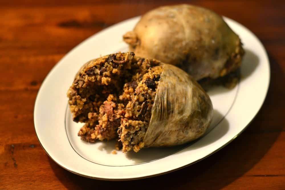 Haggis – breakfast food