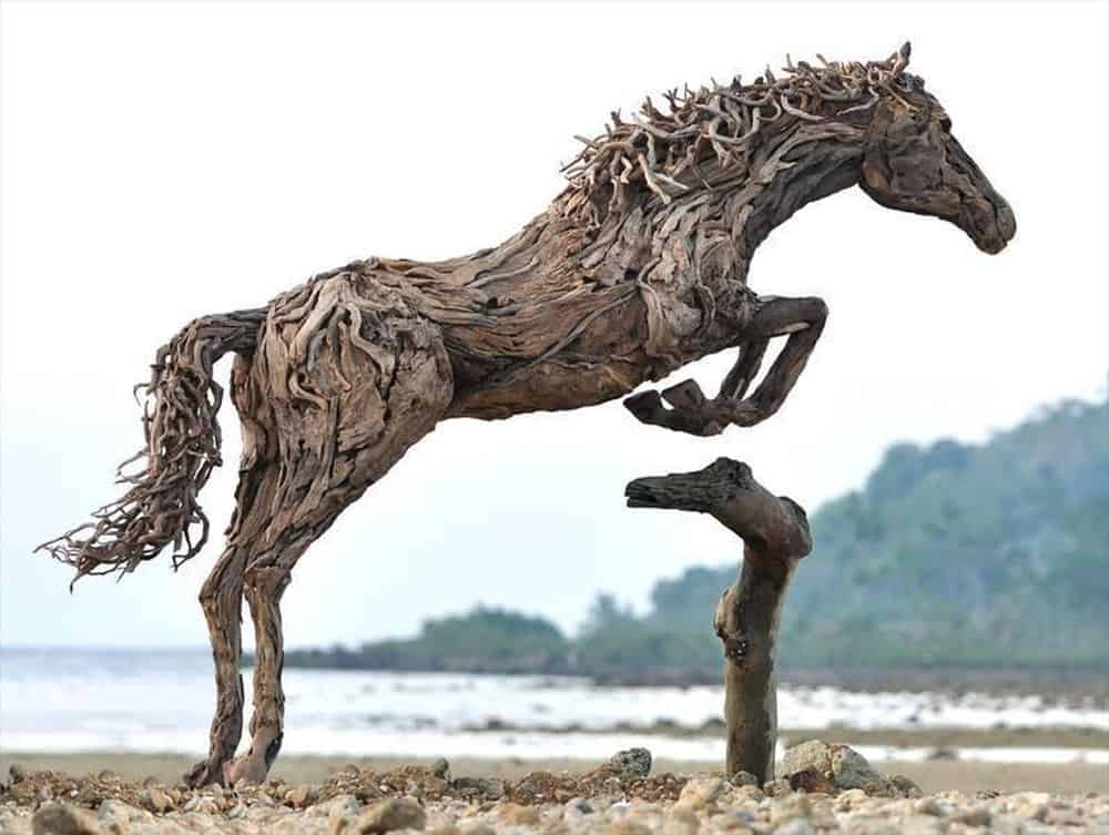 Heather Jansch Nightmare and Daydream III – junk art