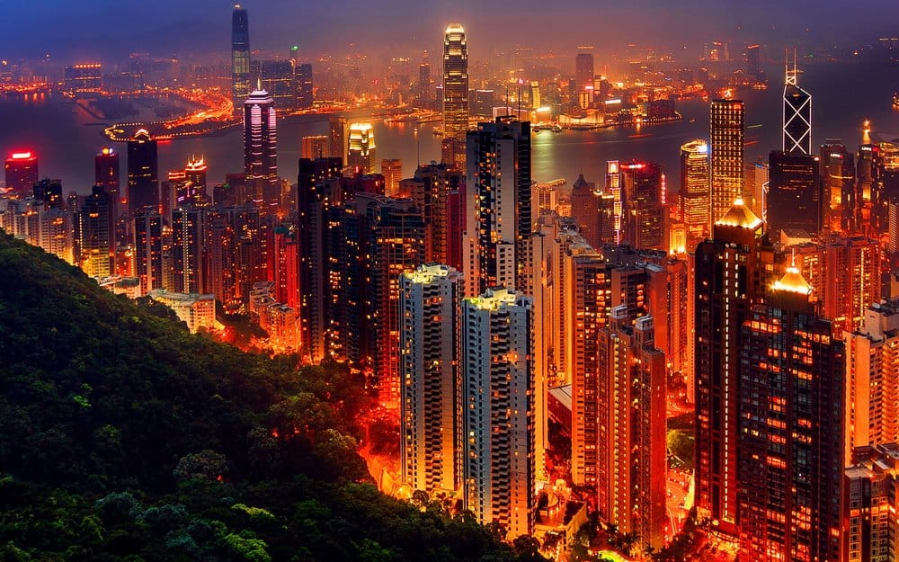 Hong Kong, China – beautiful city