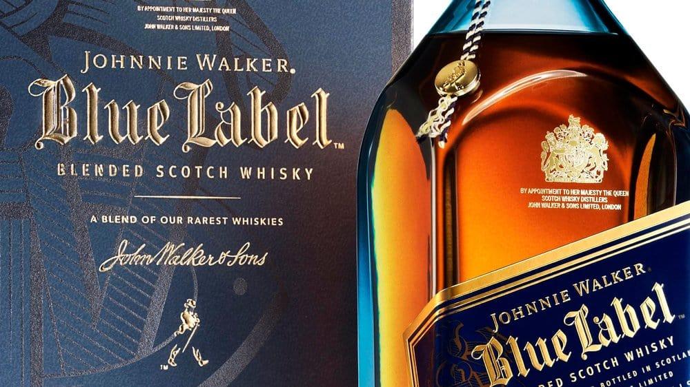 Johnnie Walker Blue – scotch under 250