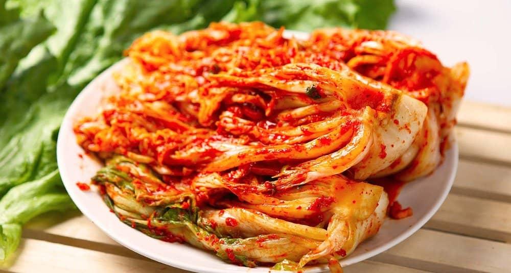 Kimchi – breakfast food