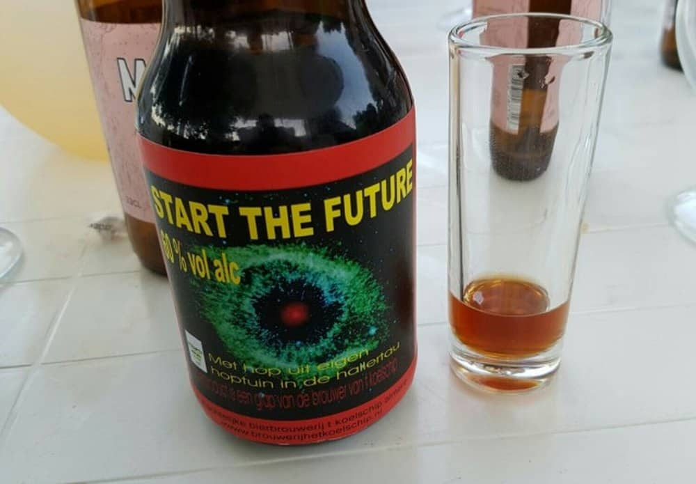 Koelschip's Start the Future – strongest beer