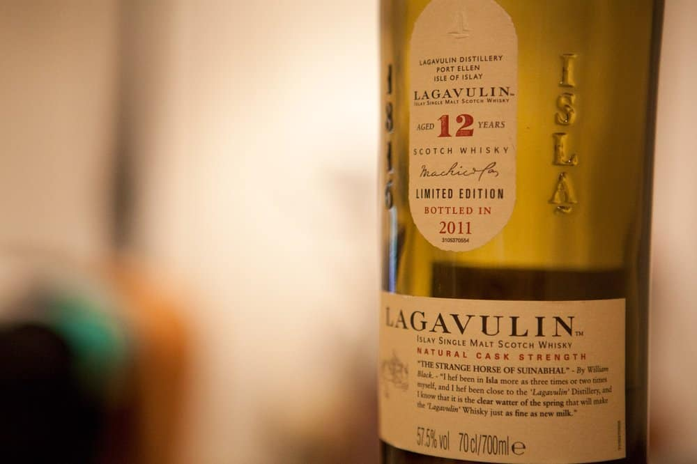 Lagavulin 12 Cask Strength – scotch under 250
