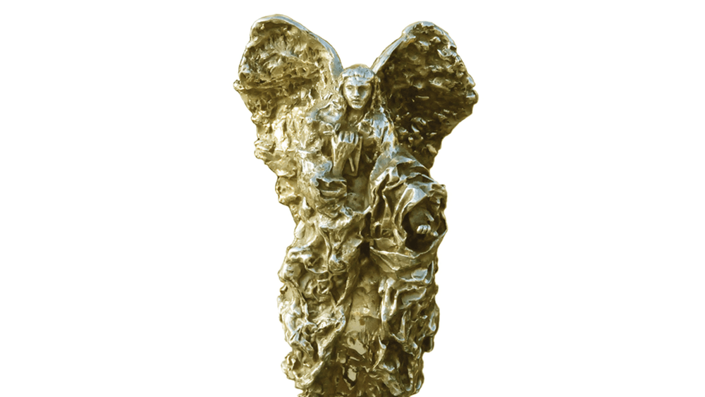 Lin Evola-Smidt Renaissance Peace Angel – junk art