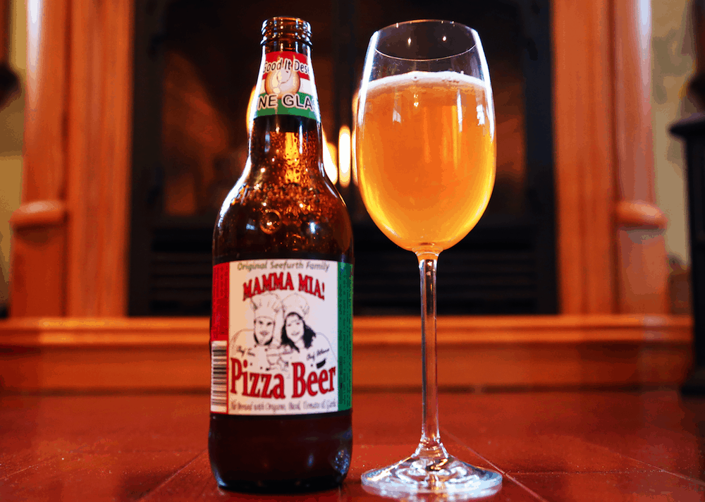 Pizza Beer – strange alcohol