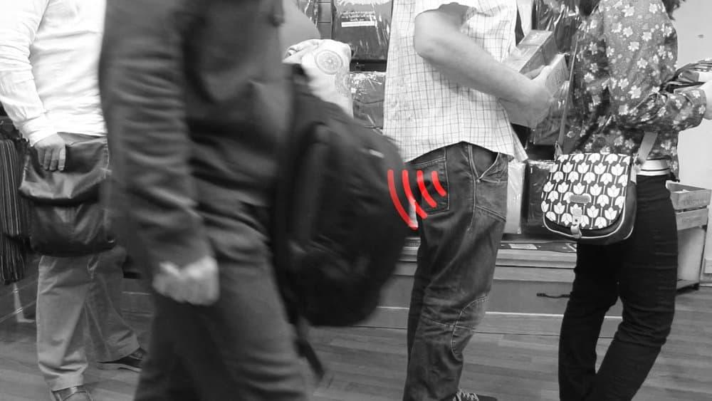 RFID Wallet Skimmer